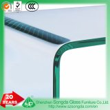 10mm Clear Bent Glass Coffee Table and Tempered Glass Panel