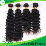 Wholesale 100% Peruvian Human Remy Hair Deep Wave Weft