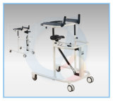 Medical Health Care Walking Aid with Seat and Four Wheels