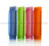 OEM Hot Sale Plastic Colorful Musical Toy Harmonica