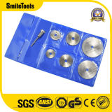 "6PC 1/8"" Shank High Speed Steel Mini Saw Blades with Mandrels"