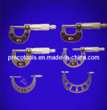 C-Frame Outside Micrometers (0-25, 25-50, 50-75, 75-100, 100-125mm)