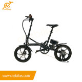 Smart 16inch Folding Ebike with Hub Motor for Adults and Children