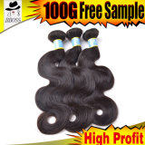 100% Virgin 10A Brazilian Hair with Lower Price