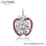 Fashion Special Animal-Shaped Series CZ Crystal Rhodium Jewelry Pendant