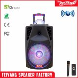 2017 New Style Top Light Cheap Rechargeable Big Power Portable Bluetooth Speaker with Trolley---La-013D