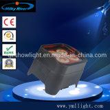 Mini 4PCS 12W 6in1 RGBWA UV LED PAR Light Freedom PAR Light