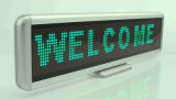 Green Color Desk LED Moving Sign 16X96