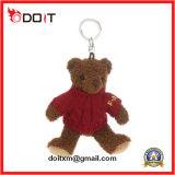 Custom Logo Plush Toy Teddy Bear Promotion Gift Key Chain