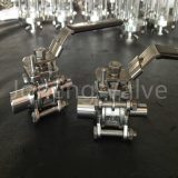 Stainless Steel Sanitary High Pressure Three Piece Ball Valve