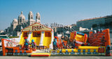 Commercial grade Inflatable combo Castle Bouncer inflatable obstacle for Sale