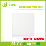 Ugr<19 Free Sample 595*595 UL Standarded LED Panel Light with 120lm/W