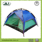 Automatic Double Layers Half Cover Camping Tent