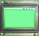 Character LCD Module Yellow Green