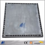 Heavy Duty Manhole Cover with Solid Top, Concrete Infill, for Sewer, Stormwater, Ductile, Access Cover, Iron 500-7 600-3
