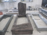 Aurola European/Russian/American Style Granite/Marble Tombstone with Custom Design