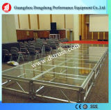 High Grade Assemble Stage Aluminum Alloy Glass Stage