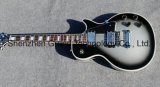 Custom Shop Silver Burst Black Edge Lp Electric Guitar / High Quality Musical Instruments (GLP-134)