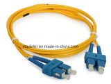 Fiber Optic Patch Cord Cable Single Mode Sc to Sc