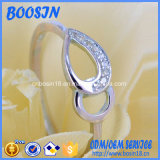Custom Hollow Drop Silver Ring for Wholesale