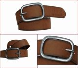 Brown Fashion Casual Men's PU Belt