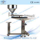 Stand Type Paste Tomato Filler for Yogurt One Filling Nozzle