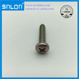 Yellow Zinc Steel Phillip Round Head Tapping Screw