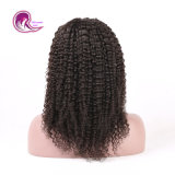 Remy Hair Lace Frontal Wig with Natural Curly
