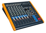 8 Channels Two Stereo Input Professional Mixing Console RM 8