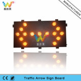1800*900mm European Standard 125mm Lamps Aluminum LED Arrow Board