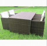 Patio Leisure Outdoor Dining Furniture Rattan Bar Set