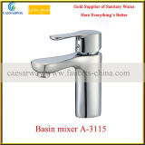 Chromed Basin Mixer for Bathroom