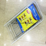 Metal Wheeled Wire Storage Basket Rack, Kitchen Wire Shelf
