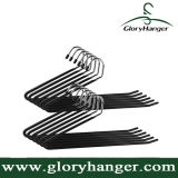Heavy Duty Slacks/Trousers Hangers, Open Ended Non-Slip Towel Rack