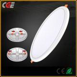 Adjustable Holing Size Round/Square LED Panel Light 6W 8W 15W 20W Aluminum Ceiling Recessed LED Panel Light Recessed Downlight