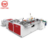 Cw-500zd Fully Automatic Bottom Seal Soft Loop Handle Bag Making Machine Price