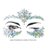 Carnival Rhinestones Self Adhesive Face Jewels Face Crystals Stickers (SR-56)