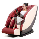Genuine Leather Massage Chair Synthetic Leather with Foot Massager