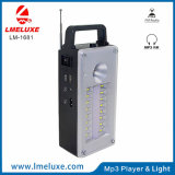 High Power Speaker and FM Radio Rechargeable LED Emergency Light