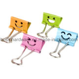 Personalized Smile Shaped Metal Binder Clips