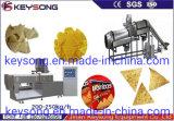 Doritos Snacks Production Line Video Corn Flour Doritos Making Machine