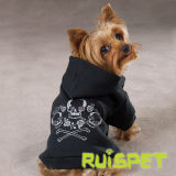 Screen Print Dog Pet Hoodie Clothes for Small Breeds
