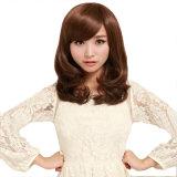 Synthetic Hair Wig Cheap Natural Wig Medium Curly Hair