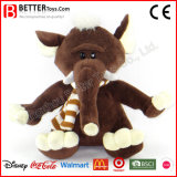 Promotion Gift Stuffed Animal Plush Soft Elephant Toy for Kids/Children