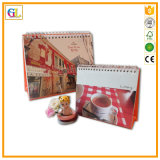 Customized Printing Paper Desk Calendar for Office