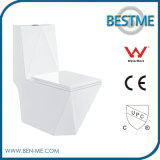 Diamond Shape Modern Design Ceramic Siphonic Toilet