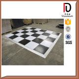High Quality Movable Solid Wood LED White or Black Dance Floor