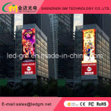 Super Waterproof Full Color P16 LED Screen, Play Video Advertising