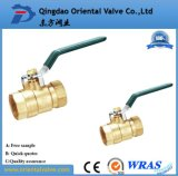 1/4, 3/8, 1/2 NPT Pneumatic Cheap Brass Ball Valve for Oil and Gas,