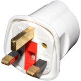 Schuko Euro Plug Socket to 13A 3 Pin UK Plug Adapter
